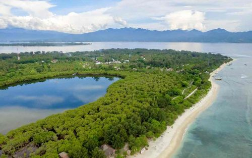 sustainable resort gili meno